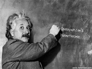 Einstein, Yaz Oğlum!