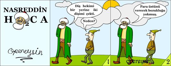 Nasreddin Hoca 2-Para Üstü