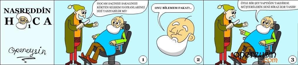 Nasreddin Hoca-Tıraş