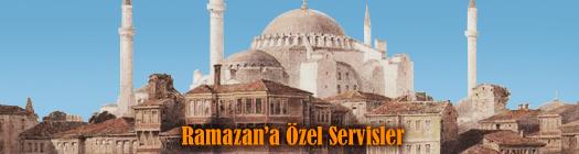 Ramazan'a Özel Servisler